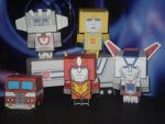Cubee's - Autobots by CyberDrone