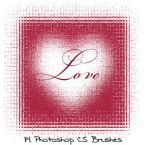 Photoshop CS LOVE brushes by gorjuss-stock