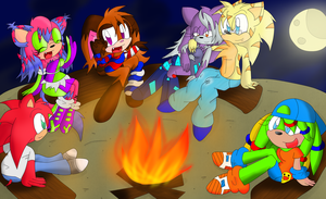 Campfire~ by Alichat