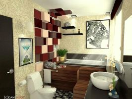 bathroom concept by davens07