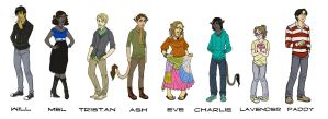 Elvendon Lineup Commission by EmpressFunk