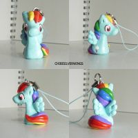 Rainbow Dash Charm 2 by ChibiSilverWings