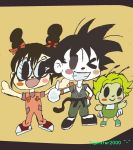 Arale Son Goku Gatchan KAWAII by Tigerstar2000