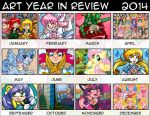 Art Year in Review by MaryBellamy