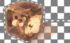 Jelly Eevee by Yen-Cat