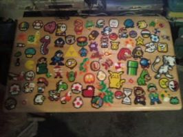 ALL my perler beads stuff by dylrocks95