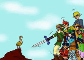 Zelda: Temple in the Sky ... ward Sword. by SaintsSister47