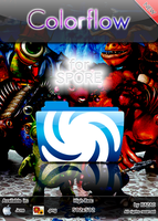 Colorflow icon for Spore by xazac87