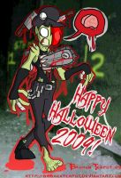 HAPPY HALLOWEEN 2009 by BrokenTeapot