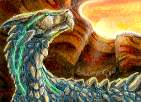 ACEO - Rise and Shine by ShadeofShinon