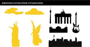 Nimpscher city vector stock by Nimpscher