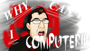 Mark - WHY  CAN'T I COMPUTER! by X-A-K