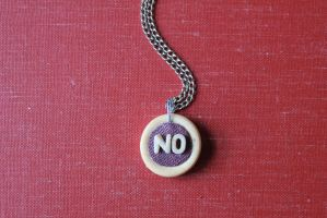 No Pendant by BlueSpecsStudio