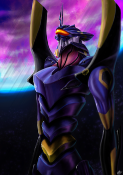 Evangelion Mark-06 by TheRogueDeity