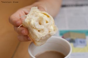 Cream cheese bun by patchow