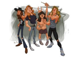 Old Metallica by dominicali