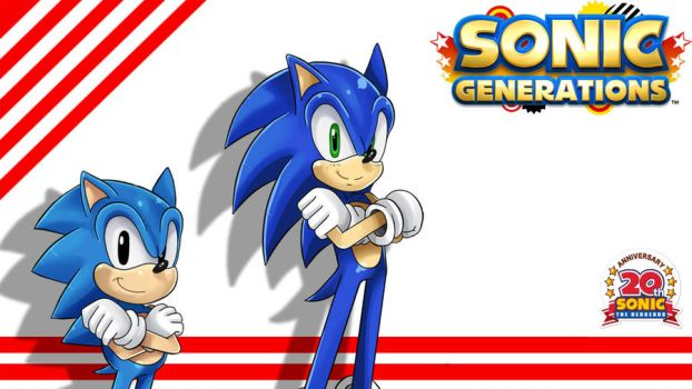 Sonic Generations Wallpaper by ss2sonic