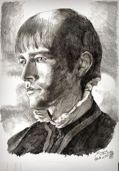 Sketch - Torrance Coombs by tankgirly