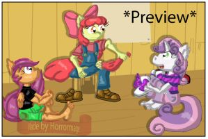 CMC tickle comic PT3 Preview 1 by Horrormage