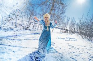 Elsa - Cast Coldness by TommyBastien