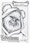 FREE Ewok sketch 2015 by Carl-Riley-Art