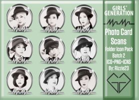 SNSD Mr. Mr. Photo Card Scans Folder Icon Pack 2 by Rizzie23