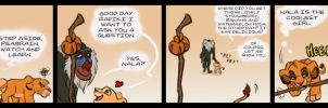 What are you doing, Simba? Part 2 by Juffs