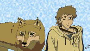 Hige From Wolf's Rain by Ihtaver