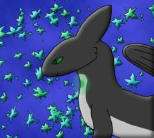 Erich - surround by the leaf by moonofheaven1