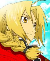 Edward Elric FMA colored (with video) by doommaker1000
