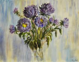 Asters 2 by ErynLuin