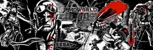 Mad World dual wallpaper by Toxigyn