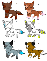 Kitty adopts 4 by Icey-adopts