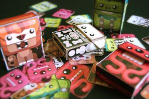 Paper Animal Boxes by Gus-Santome