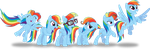 Colors of the Rainbow(Dash) by RuinedOmega