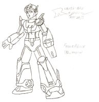 Force Armor - PL Version by Reploid-Man