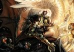 darkness angelus top cow by nebezial