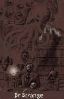 TLIID What if... Mike Mignola created Dr. Strange? by Nick-Perks