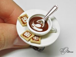 Cup of coffee 6 by OrionaJewelry