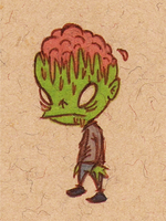 Zombie Brains by sketchxj