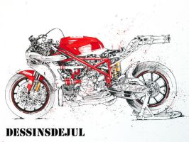 Ducati 999 sbk by dessinsdejul