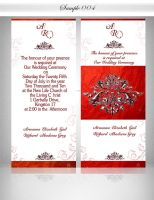 ::: Wedding INV Sample 4 ::: by Gallistero