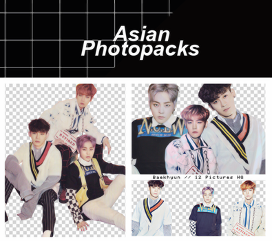Pack Png 078 // EXO-CBX (Girls!). by xAsianPhotopacks