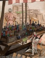 Wayfinder #10 - A Visit to the Market by mli13