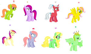 Mane 8 Individual by awesome992