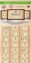Vintago Powerpoint Template by kh2838