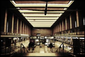 tempelhof airport - inside 2 by brandybuck