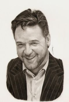 Russell Crowe by AmBr0