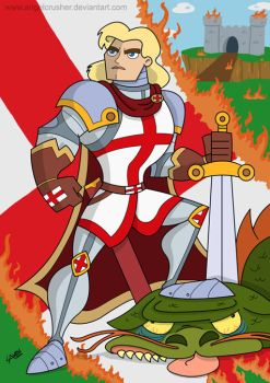 St George by AngelCrusher