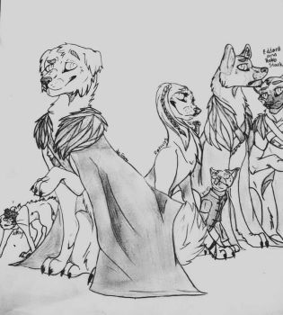 Game of Thrones by WolfeLucy